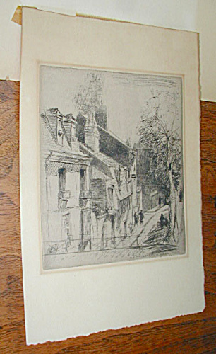 ARCHITECTURAL ETCHING BY DONALD MACLAUGHLAN (Image1)