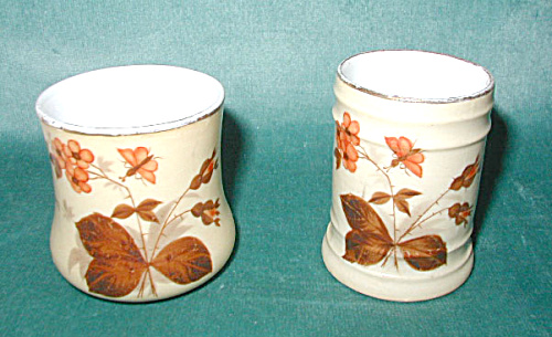 TOOTHPICK HOLDER SET, HAND-PAINTED CHINA (Image1)