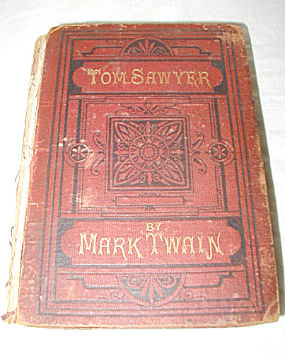 VERY RARE 1ST EDITION TWAIN BOOK TOM SAWYER (Image1)