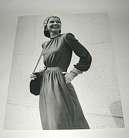 Kay Bell Reynal Vintage Fashion Photograph