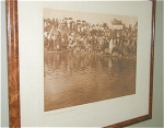 Click here to enlarge image and see more about item 244: E. CURTIS INDIAN PHOTOGRAVURE, AT THE POOL