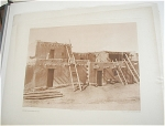 Click here to enlarge image and see more about item 245: E. CURTIS AMERICAN INDIAN PHOTOGRAVURE, JEMEZ