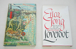 TWO SIGNED AUTOGRAPHED BOOKS INCLUDING FEAR OF FLYING AND LOVEROOT BY ERICA JONG