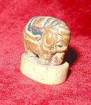 OLD ELEPHANT NETSUKE