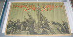 Click here to enlarge image and see more about item 642: GROUP OF 5 ORIGINAL FRENCH WWI POSTERS