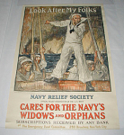 Click to view larger image of ORIGINAL WORLD WAR I POSTER BY BRANGWYN (Image1)